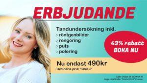 Erbjudande Tandläkare Anna Bergman Portfolio Helsingborg Photo by Meritt Thomas Unsplash