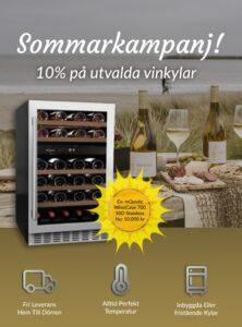 Annons exempel Vinkyl från företaget vinkylen.se som säljer vinkylar